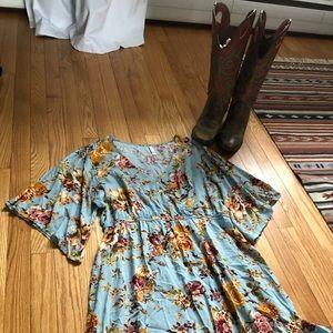 Super cute Target Brand Floral Dress